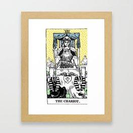 Modern Tarot 7 - The Chariot Framed Art Print