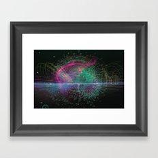 Information Diving Framed Art Print
