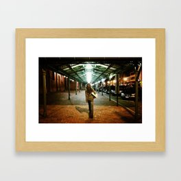 I Shall Not Walk Alone Framed Art Print