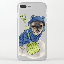 Moe Clear iPhone Case