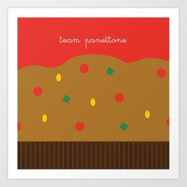 Christmas Series: Team Panettone Art Print