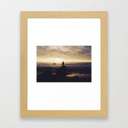 Standing Framed Art Print