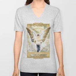 Wings of Faith : Savior Unisex V-Neck