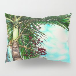 Manila Palm Tree - Hawaii Pillow Sham