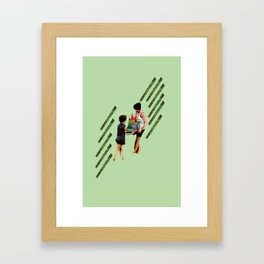 Hold on to the Colors Framed Art Print