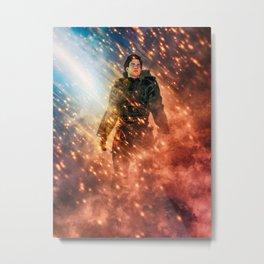 Fire storm Metal Print