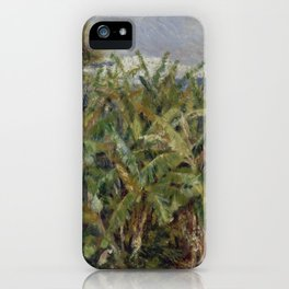 "Auguste Renoir ""Field of Banana Trees"" iPhone Case"