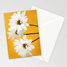 Triple Daisy Stationery Cards