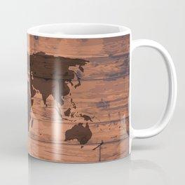 World Map Brand Coffee Mug