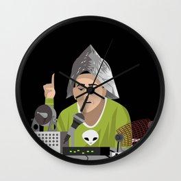 alien conspiracy man Wall Clock