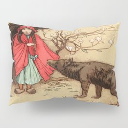 Little Red Riding Hood Warwick Goble Pillow Sham