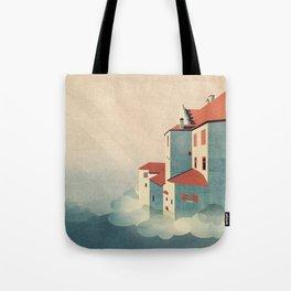 Castle in the Sky Tote Bag
