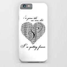 Cross my heart, cross my fingers. iPhone 6s Slim Case