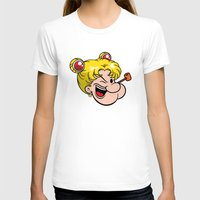 popeye T-shirts featuring Popeye the Sailor Moon by unluckyxiii