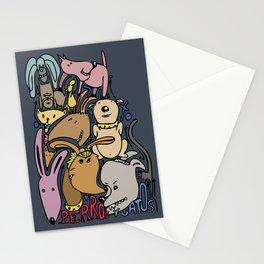 COMO PERROSYGATOS Stationery Cards