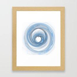 Valentine's Fractal VI - Light Framed Art Print