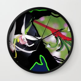 Orchid Show          by Kay Lipton Wall Clock