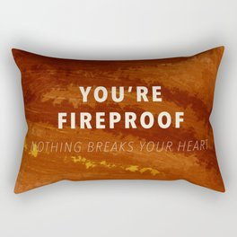 Fireproof Rectangular Pillow