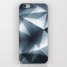 Abstract Cubizm Charcoal Drawing iPhone Skin