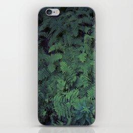 Fern Leaf Pattern iPhone Skin
