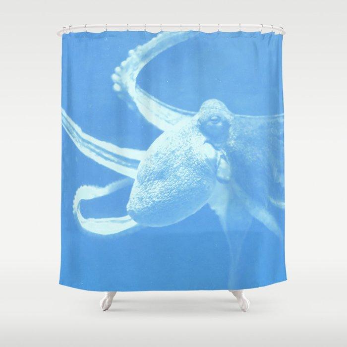 Octopus Dance Shower Curtain