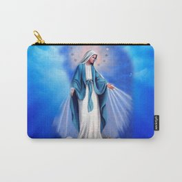 Religious Art Of Mother Of Jesus Carry-All Pouch