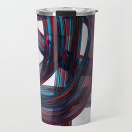 Glass Brush Stroke Travel Mug
