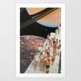 People of Titan Art Print