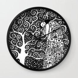 Gustav Klimt - The tree of life Wall Clock