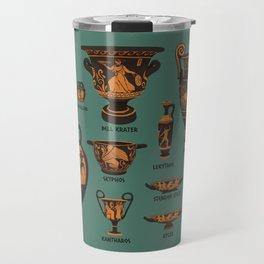 Greek Pottery Travel Mug