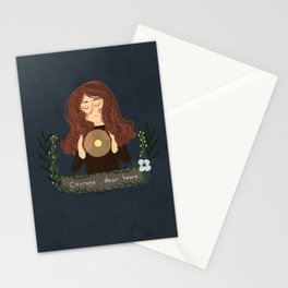 courage , dear heart Stationery Cards