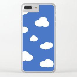 CLOUDY Clear iPhone Case