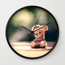 creppy doll Wall Clock