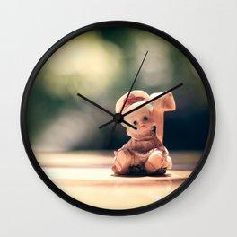 creppy doll Wall Clock