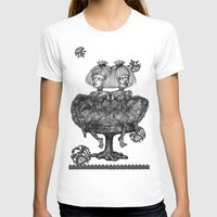 gothic T-shirts featuring Gothic Twins by AKIKO