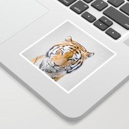 Tiger - Colorful Sticker
