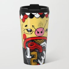 How much Time do we have left (CLOCK) Travel Mug