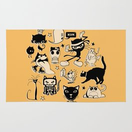 Cat Menagerie Rug
