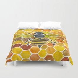 Bee & Honeycomb Duvet Cover