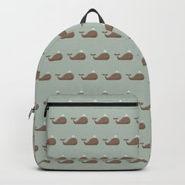 Sea of whales Backpack