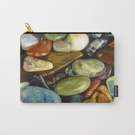 Jewel of the Little Gems - well actually polished stones...... Carry-All Pouch