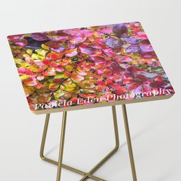 Barberry Fall Colors Side Table