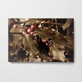 Holly berries III Metal Print