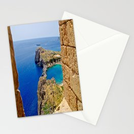 Lindos and the Sea Stationery Cards