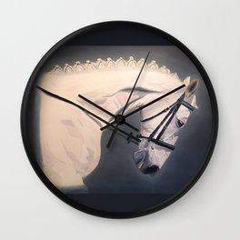 Dressage Competitor Wall Clock