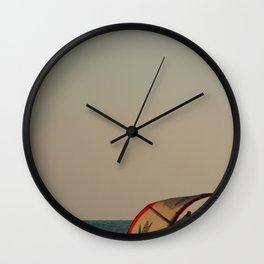 Kitesurfer Down Mandrem Wall Clock