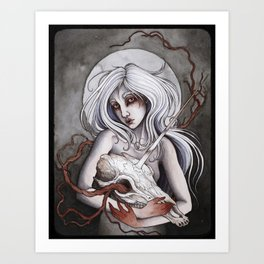 Bereavement Art Print
