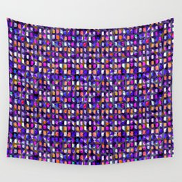 Checkered geometry Wall Tapestry