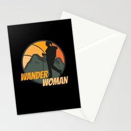Wander Woman Stationery Cards