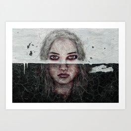 Deep Soul 24 Art Print